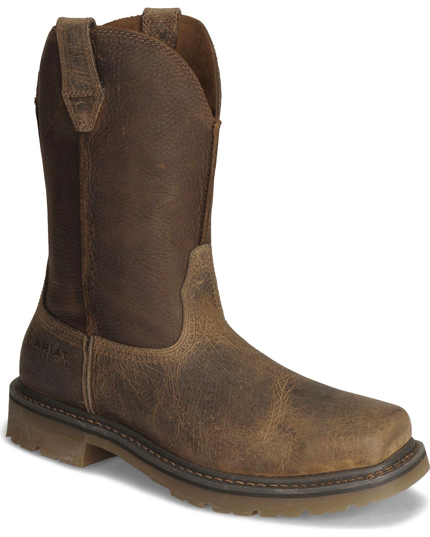 fdd0d3dcfcd Ariat Men's Rambler Steel Toe Work Boots