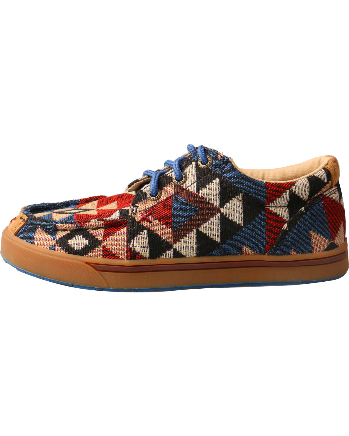 Hooey Lopers By Twisted X Youth Boys Pattern Canvas Shoes