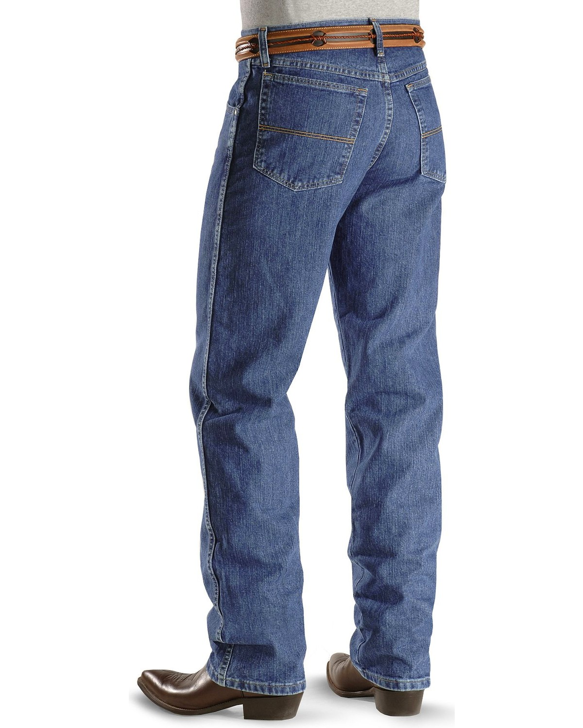 50d6b221 Zoomed Image Wrangler Men's No.23 Relaxed Fit Jeans, Vintage Blue, ...
