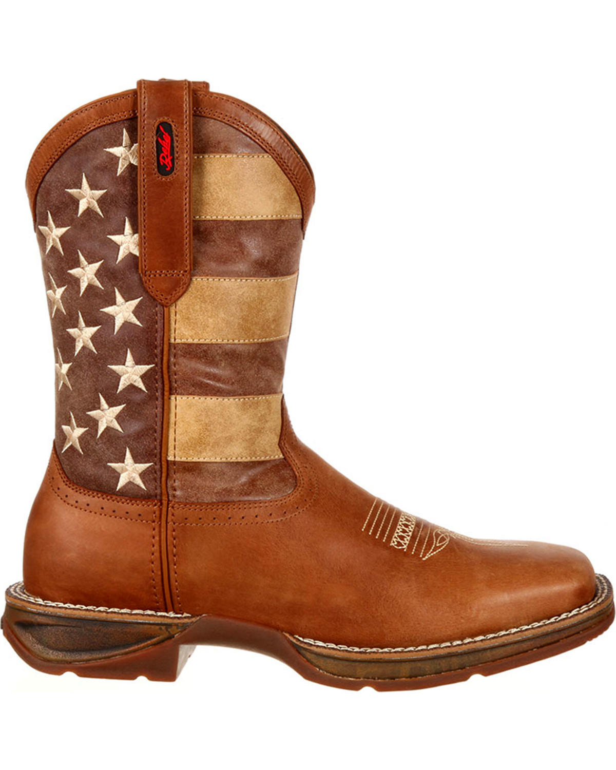 Durango Men's Faded Union Flag Western Boots