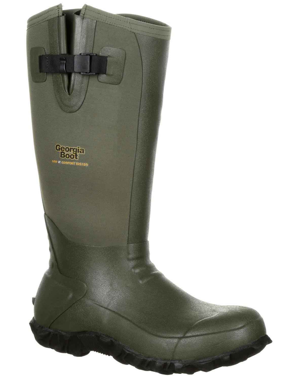 Georgia Boot Men's Waterproof Rubber