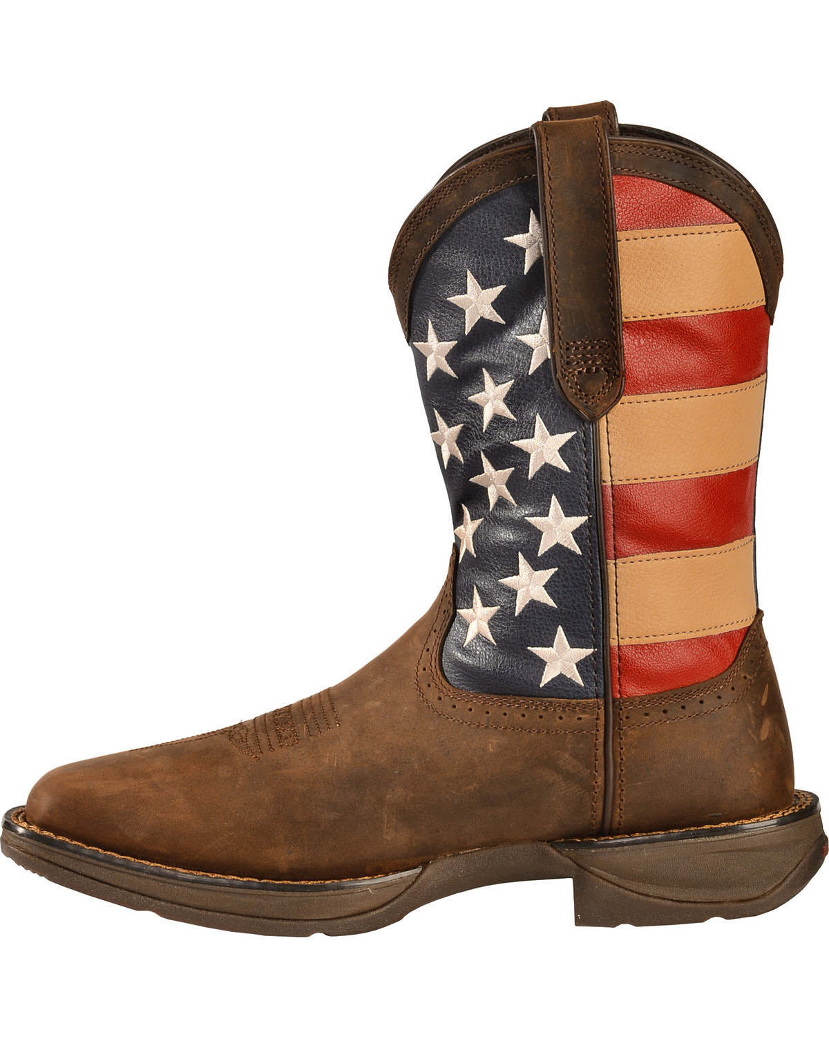 Durango Men's Patriotic Square Toe Western Boots
