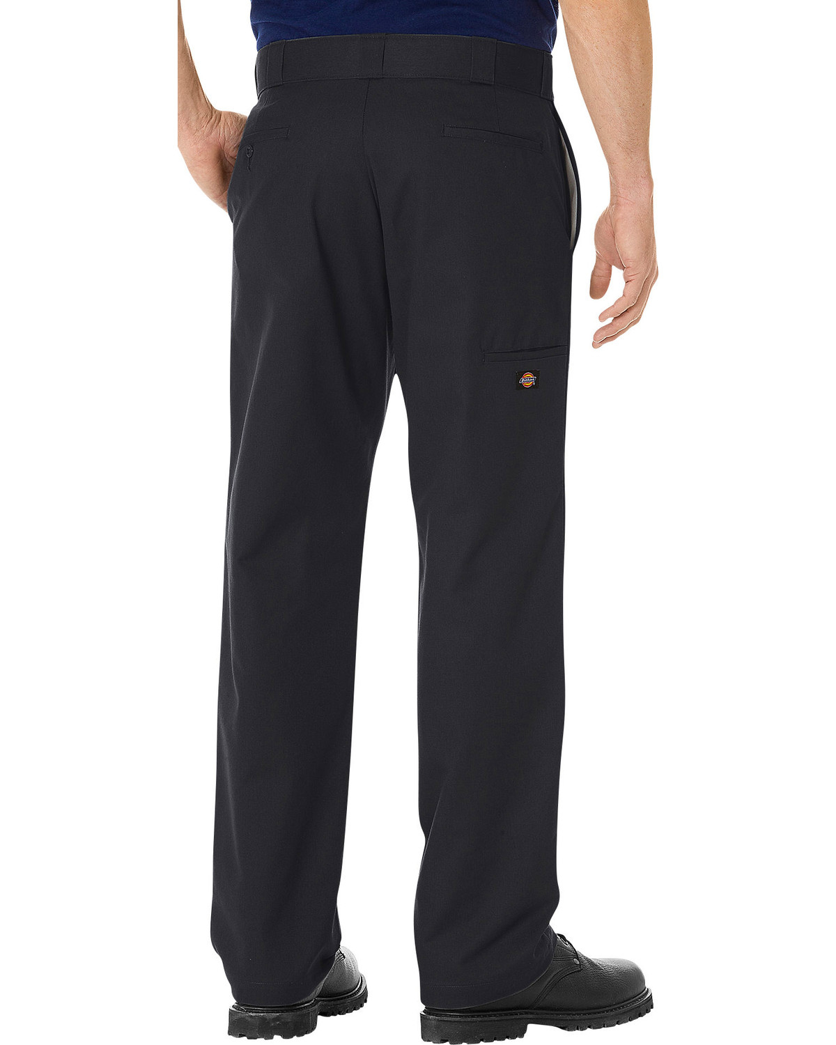 e906647e Zoomed Image Dickies Men's FLEX Regular Fit Straight Leg Double Knee Work  Pants, Black, hi-