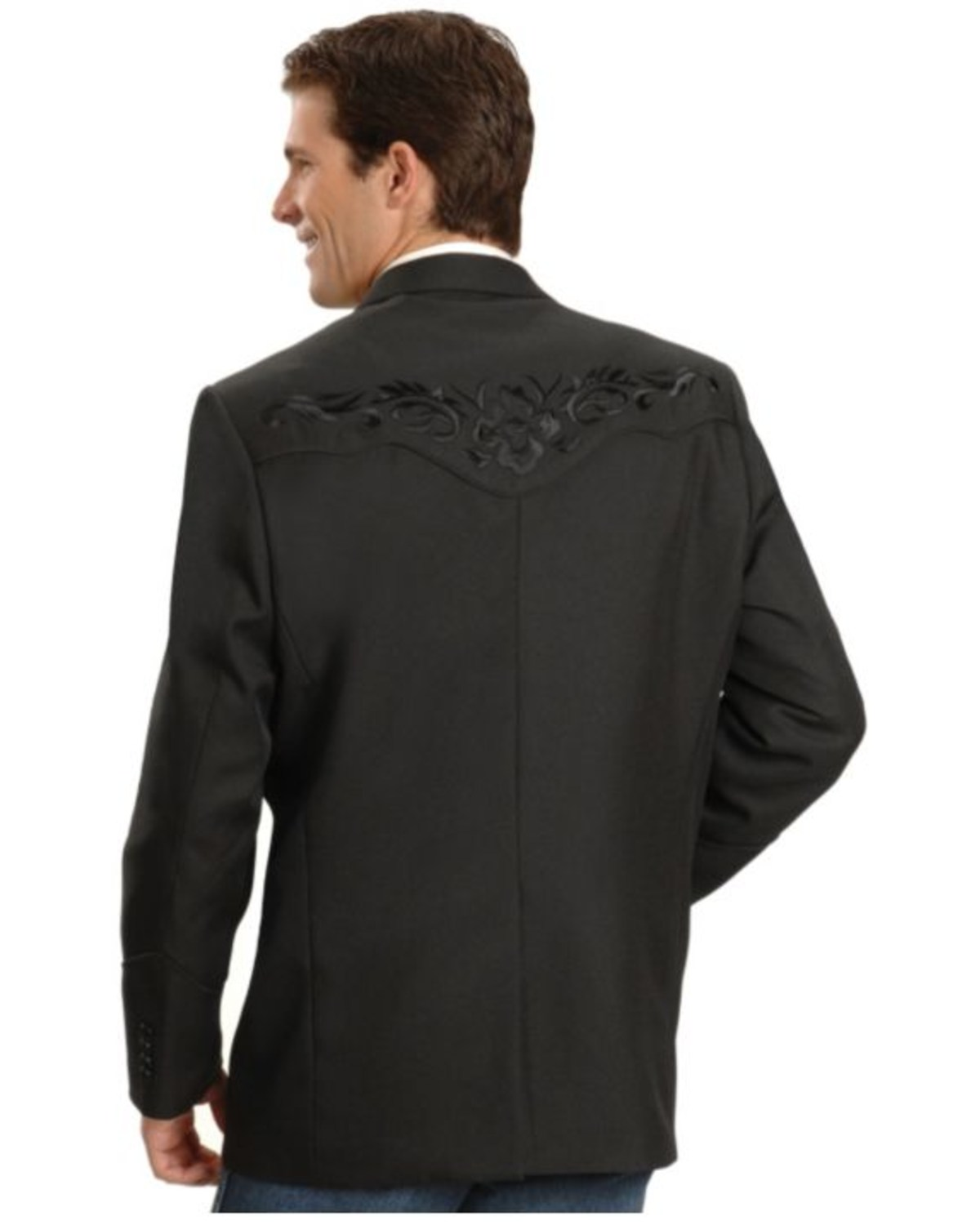 Scully Black Floral Embroidered Western Jacket Boot Barn