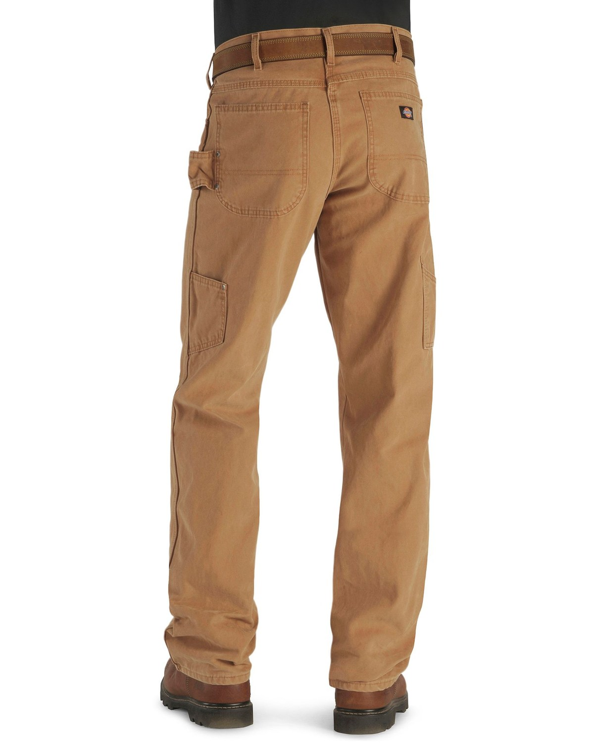343b0b12 Zoomed Image Dickies Relaxed Fit Weatherford Work Pants, Brown Duck,  hi-res. Zoomed Image ...