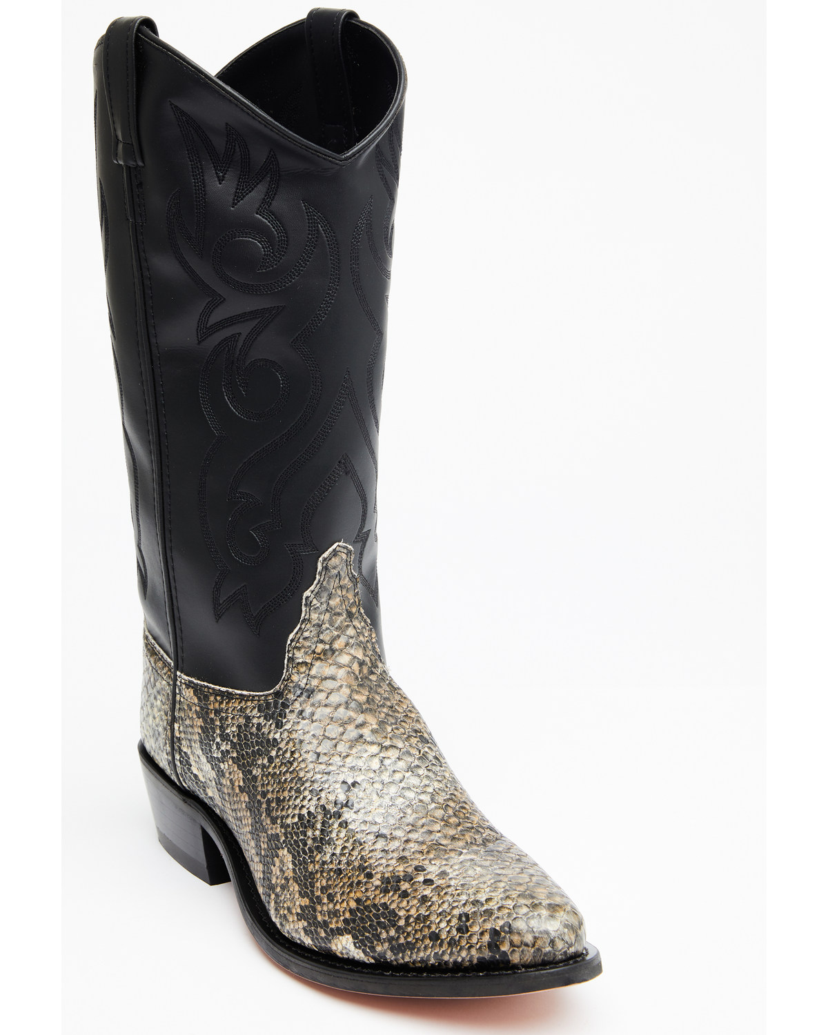 Old West Snake Printed Cowboy Boots Boot Barn