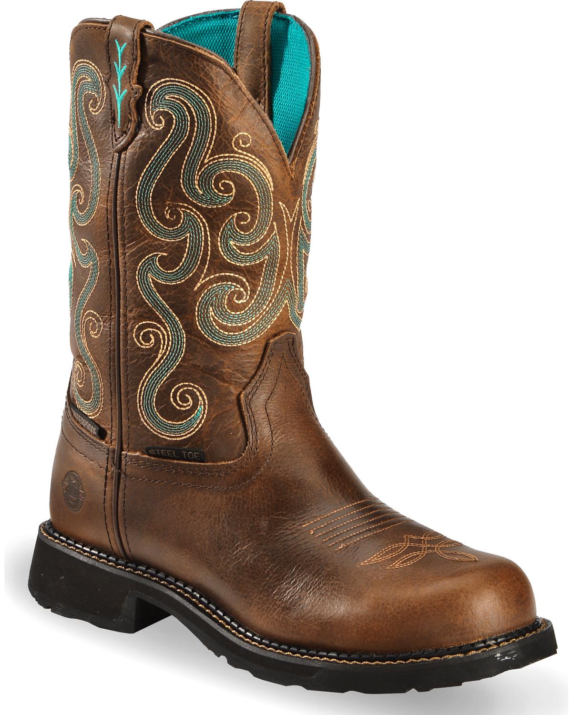 Gypsy Steel Toe Work Boots | Boot Barn