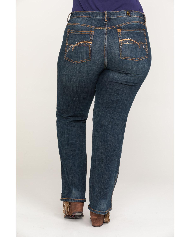 930fc4faca Wrangler Women s Aura Instantly Slimming Jeans - Plus