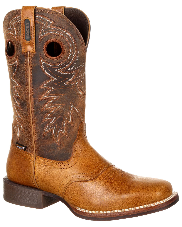 1dc51dc2776 Rocky Men's Dakota Ridge Waterproof Western Boots - Square Toe