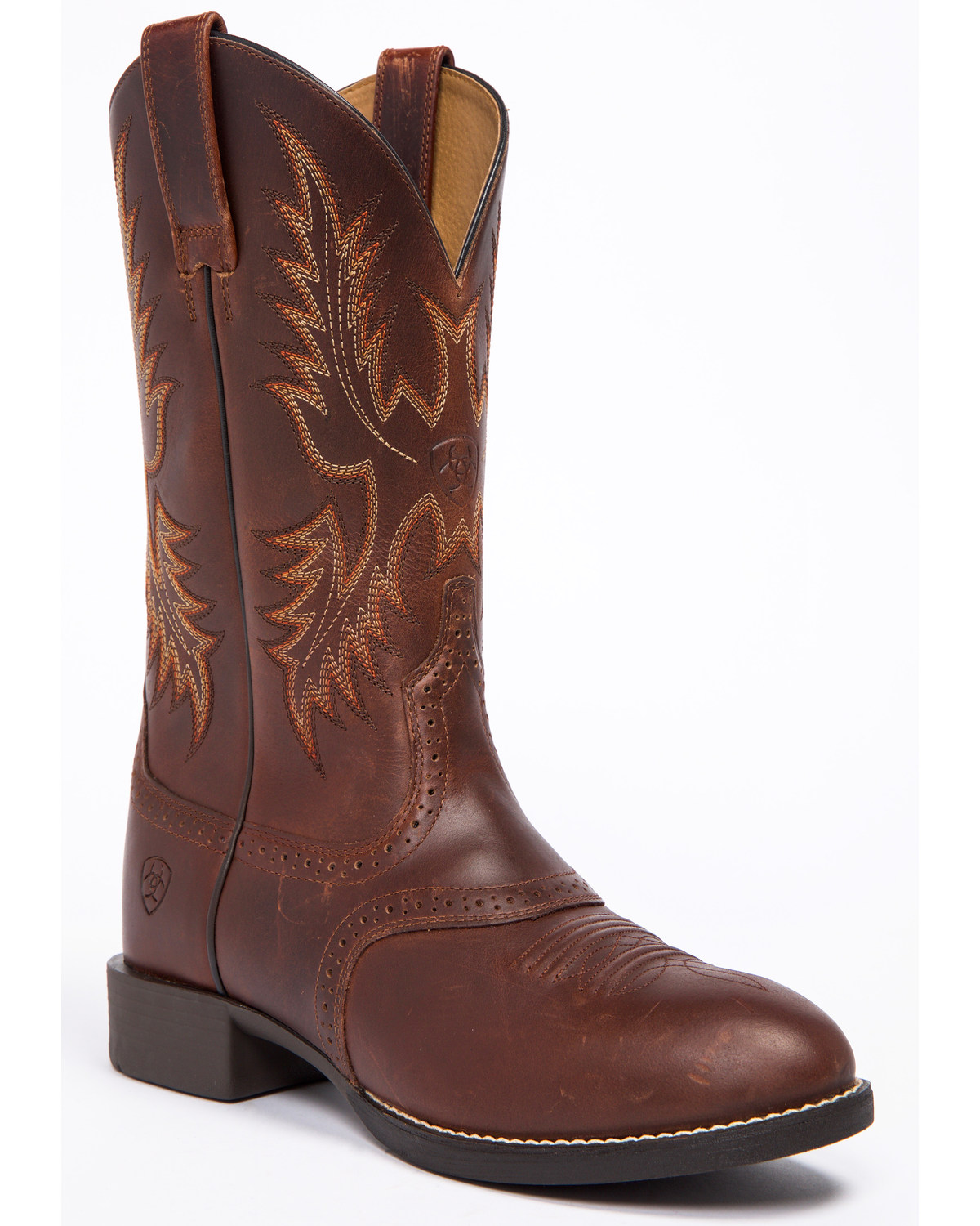 acc944d0784 Ariat Men's Nutmeg Heritage Stockman Boots - Round Toe