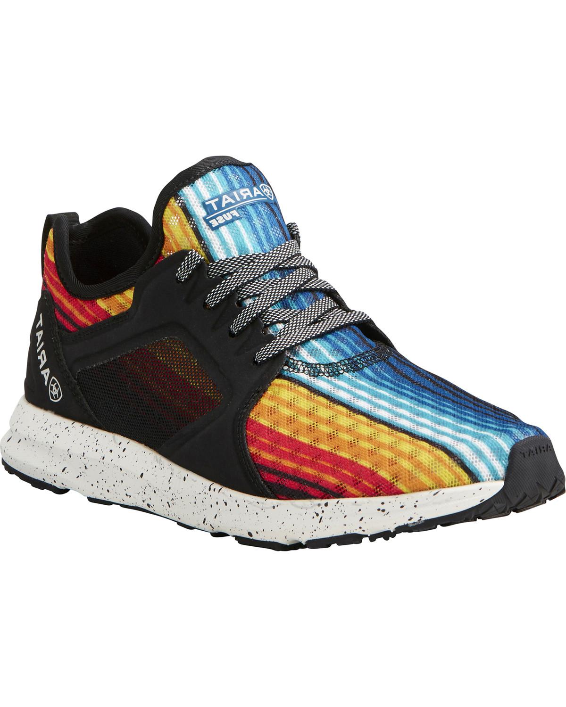 7356fd713700 Ariat Women s Fuse Rainbow Mesh Sneakers