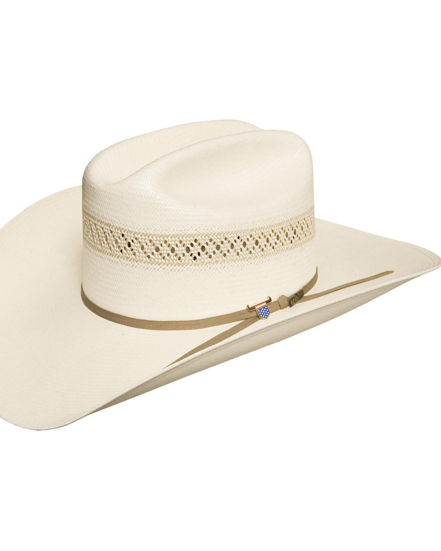 01c56c9612fac USTRC Resistol WildFire 10X Straw Cowboy Hat