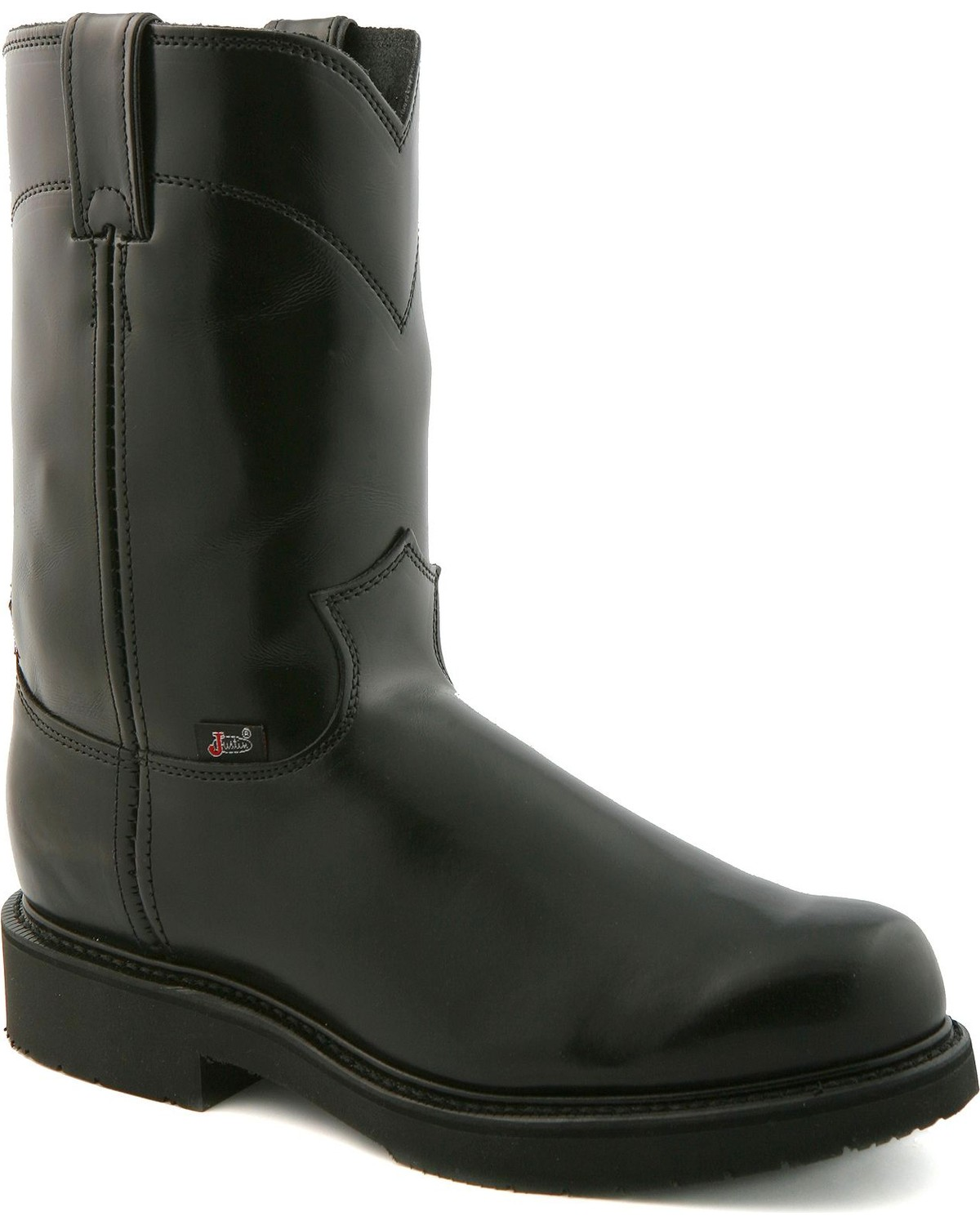Justin Boots Men's Pull On 10\