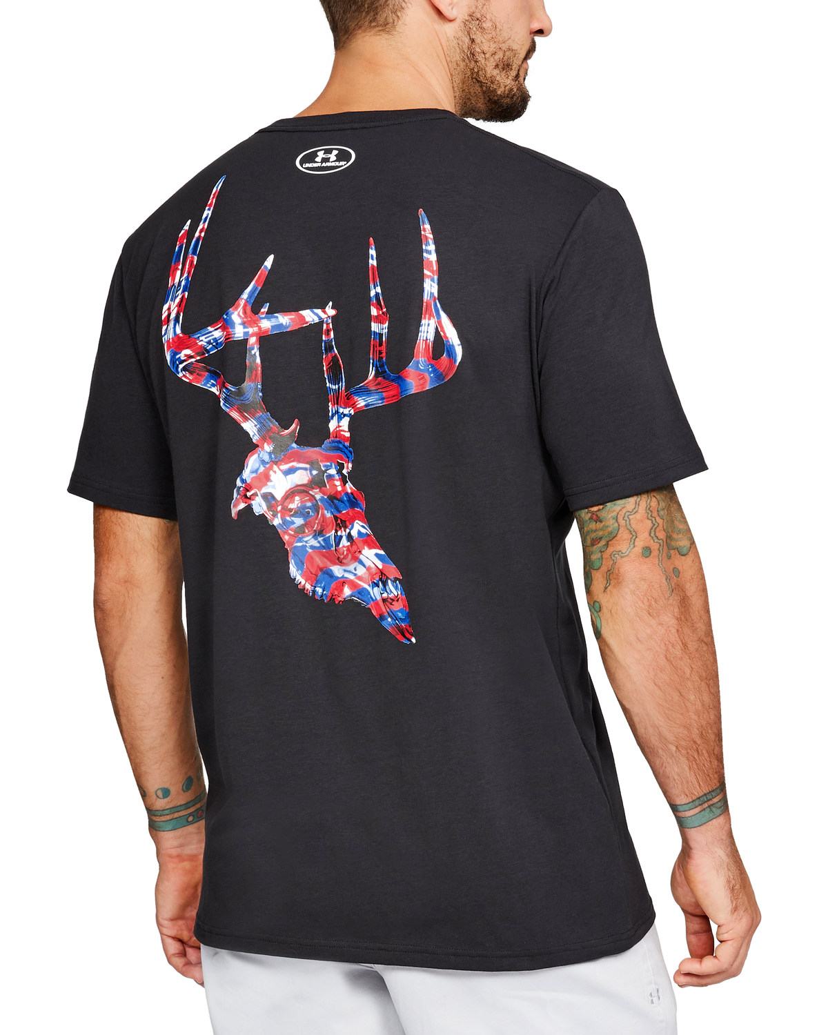 Under Armour Men s UA AF Whitetail Skull Short Sleeve T-Shirt  963a5a1b9f5