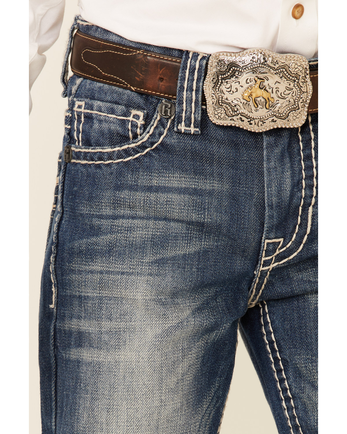 e13b8798fee Rock   Roll Denim Boy s BB Gun Boot Cut Jeans