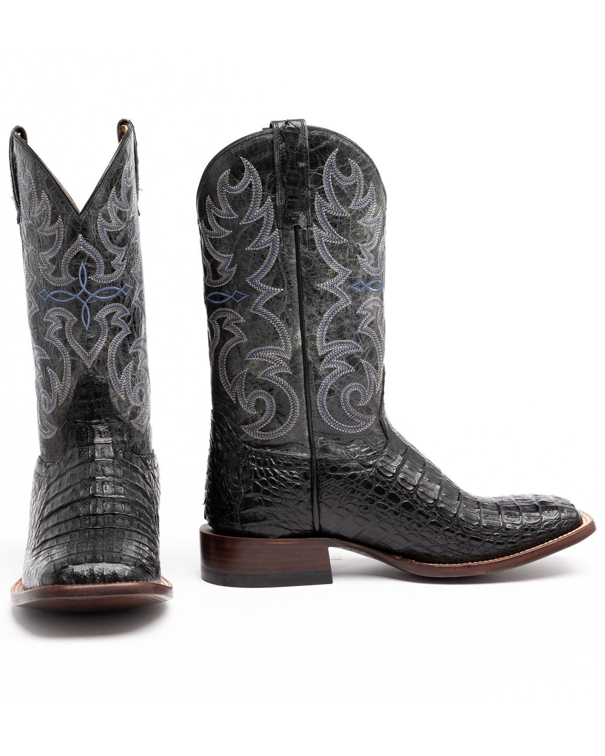 Cody James 174 Men S Caiman Embroidered Exotic Boots Boot Barn