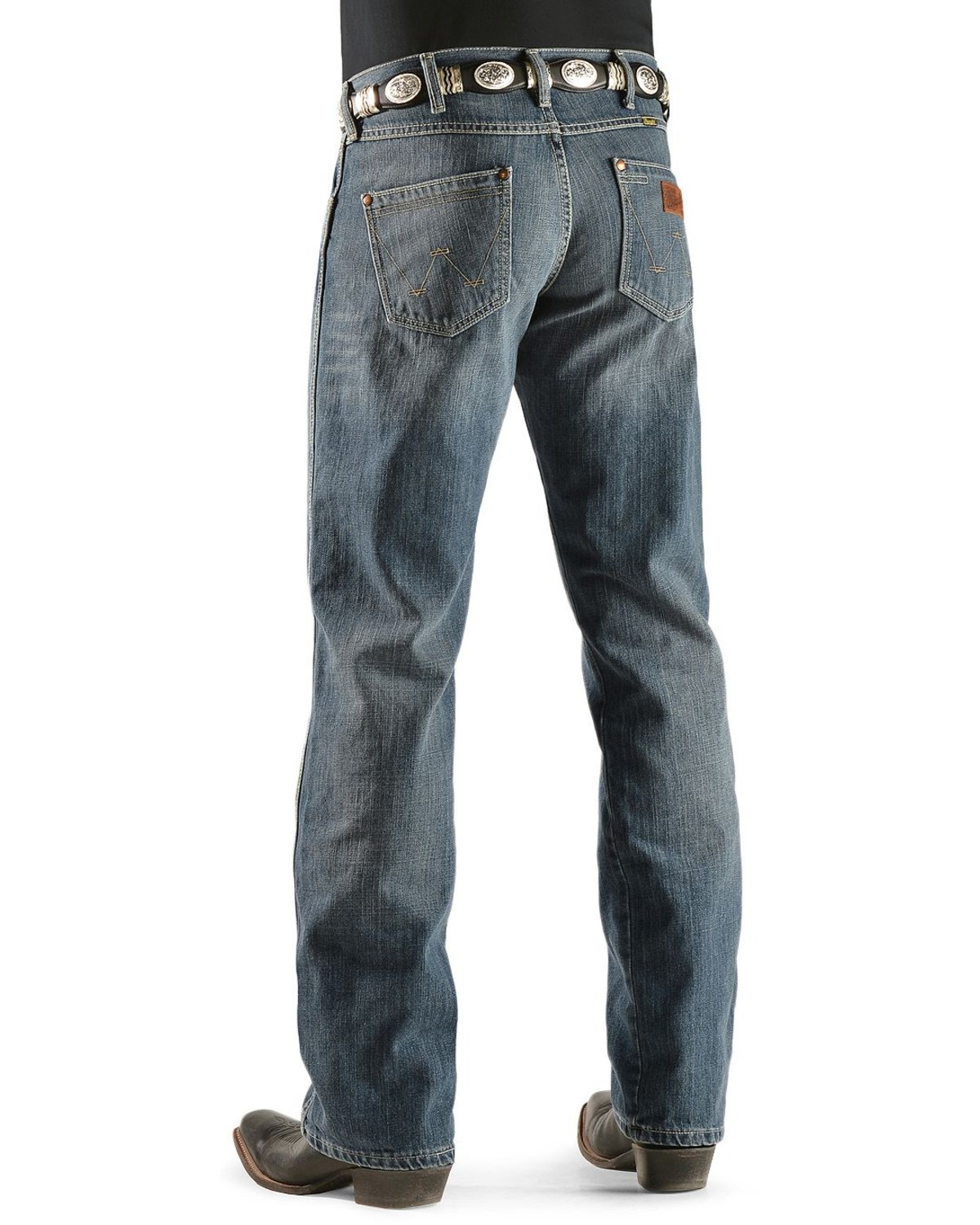 a06476ab Zoomed Image Wrangler Jeans - Retro Relaxed Fit, Denim, hi-res