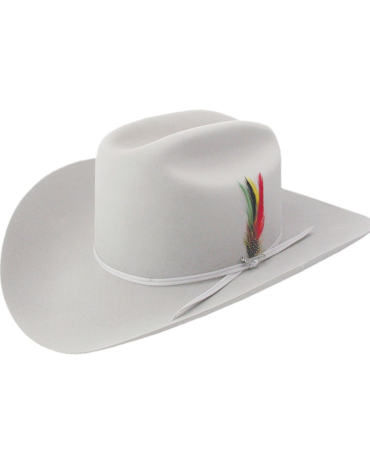 79c08229 Zoomed Image Stetson 6X Silverbelly Rancher Fur Felt Cowboy Hat,  Silverbelly, hi-res