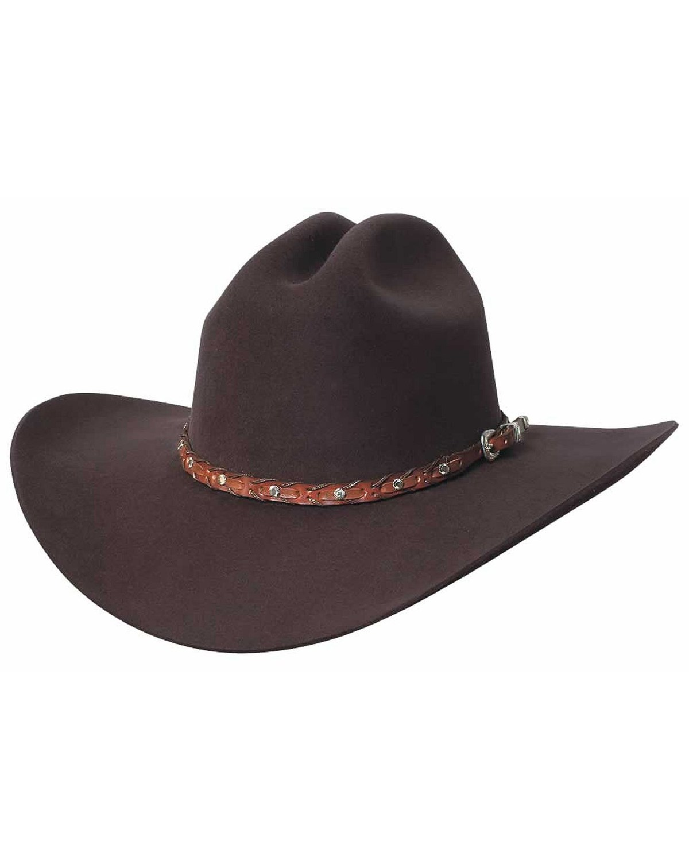 e30474e5bc9 Bullhide Men s Pistol Pete 6 X Wool Hat