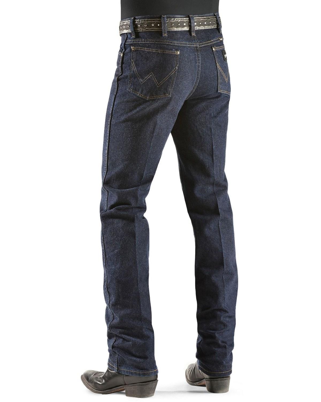 Mens Slim Straight Jeans Black Silver
