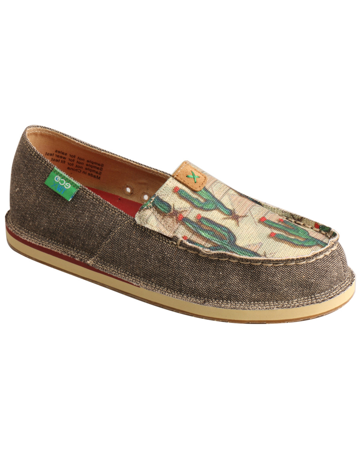 3d0d7b877bce Zoomed Image Twisted X Women's Cactus Driving Loafers - Moc Toe, Multi, ...