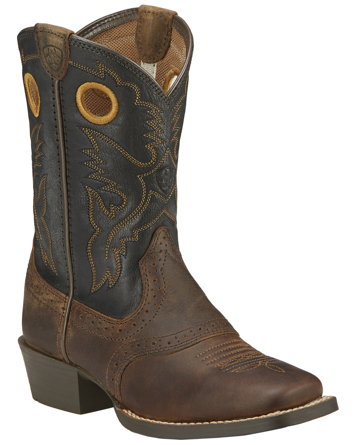 exceptional range of colors great prices the best Ariat Boys' Roughstock Cowboy Boots - Square Toe