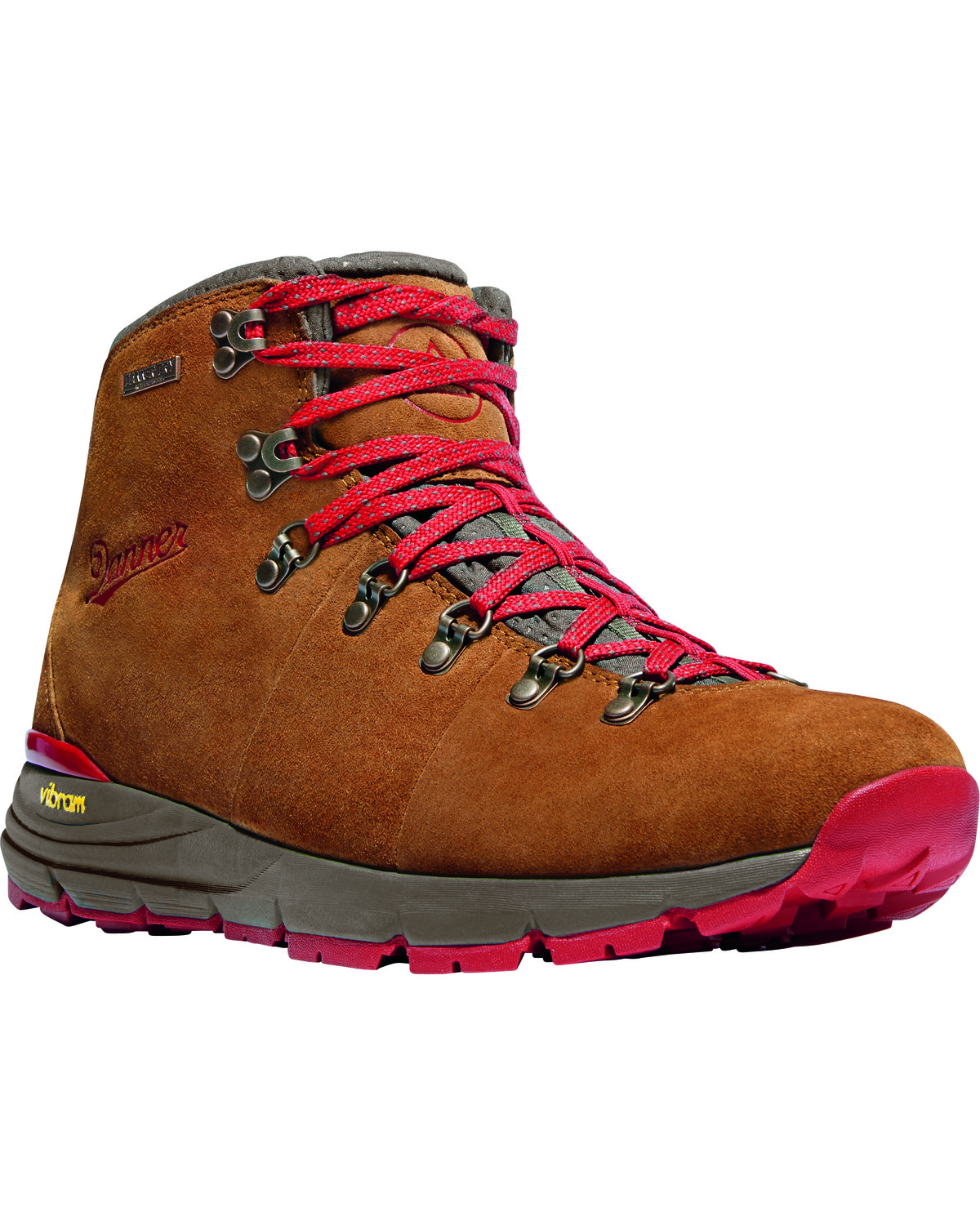 Danner Men s Brown Red Mountain 600 Hiking Boots  119d68b94