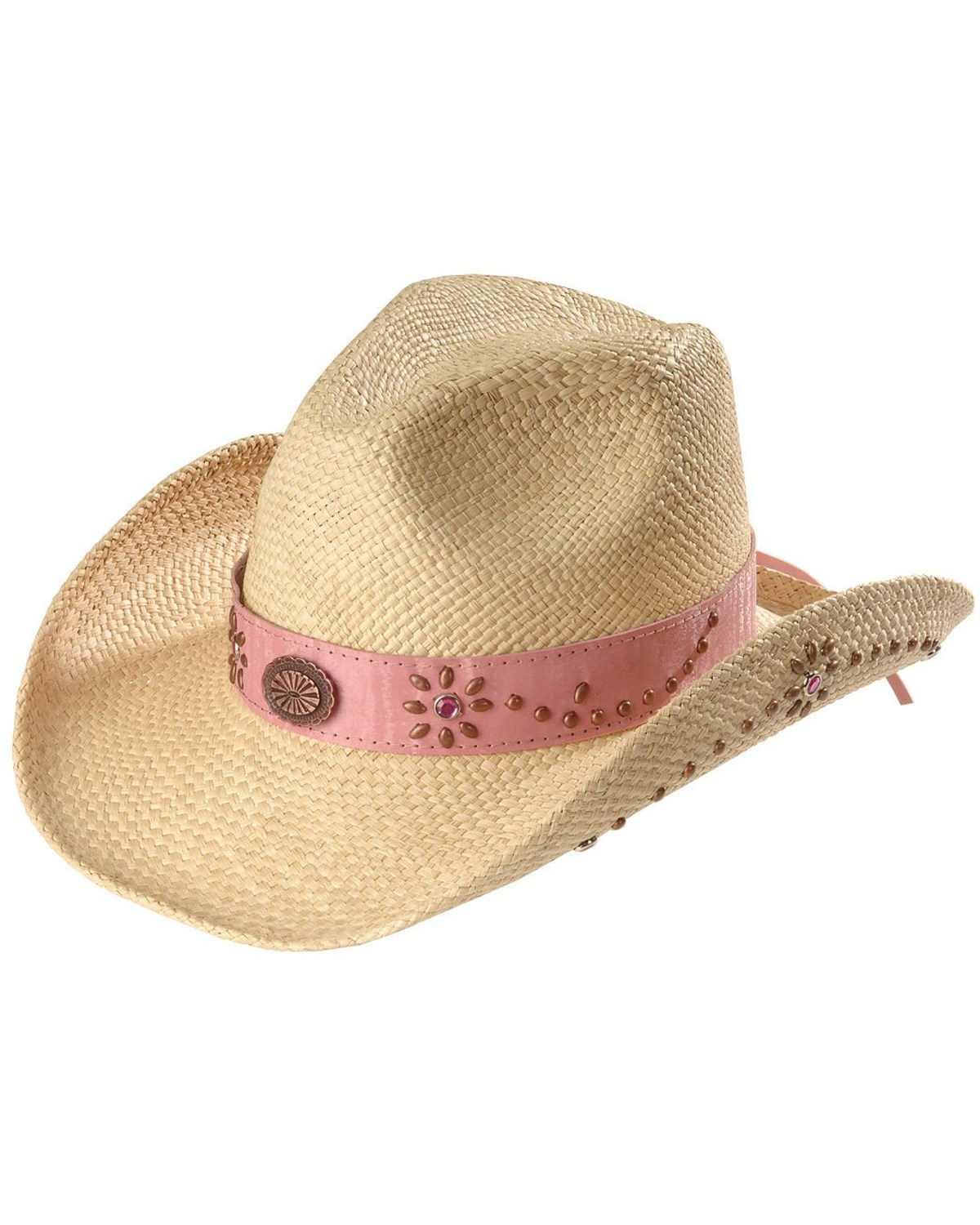 Bullhide Girls  Daughter of the West Straw Cowgirl Hat  16c85e9ba38a