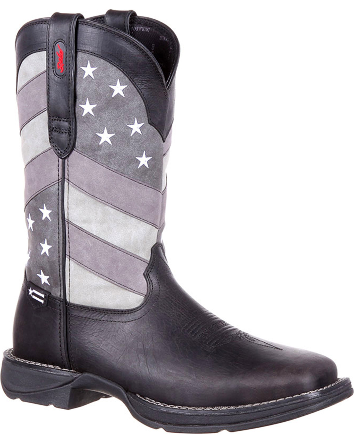 2ca5382318e Rebel by Durango Men's Faded Flag Western Boots