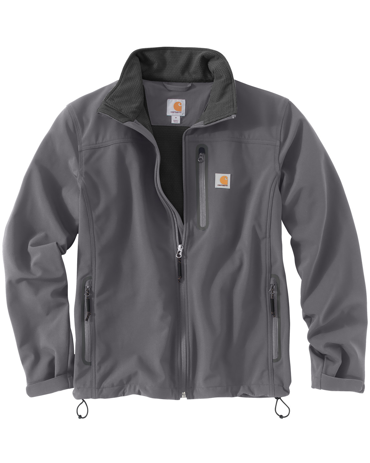 2d7ded56c030b Zoomed Image Carhartt Men's Denwood Softshell Jacket, Charcoal Grey, hi-res