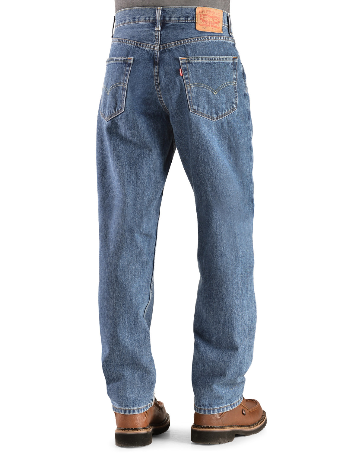 60fd7118a08 Levi s Men s 550 Relaxed Fit Jeans