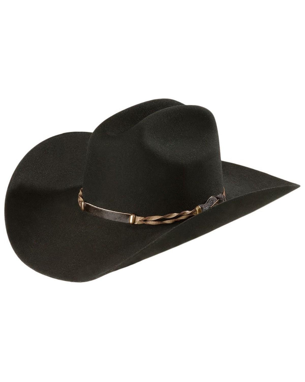 Stetson 4X Portage Buffalo Felt Cowboy Hat  72bbc9300b4