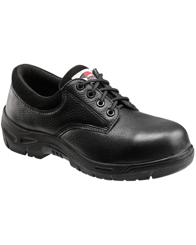 Avenger Men's Black Oxford Work Shoes