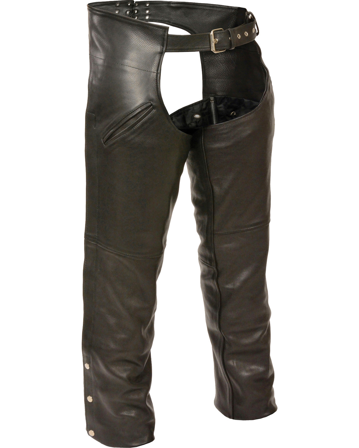 Milwaukee Leather Men's Slash Pocket Thermal Liner Chaps - 3X