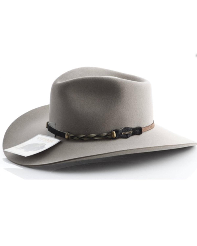 de7bfc116 Stetson Drifter 4X Buffalo Fur Felt Hat