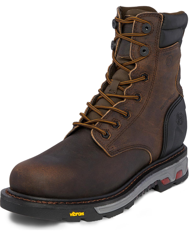 Justin Men S Drywall Waterproof Composite Toe Work Boots