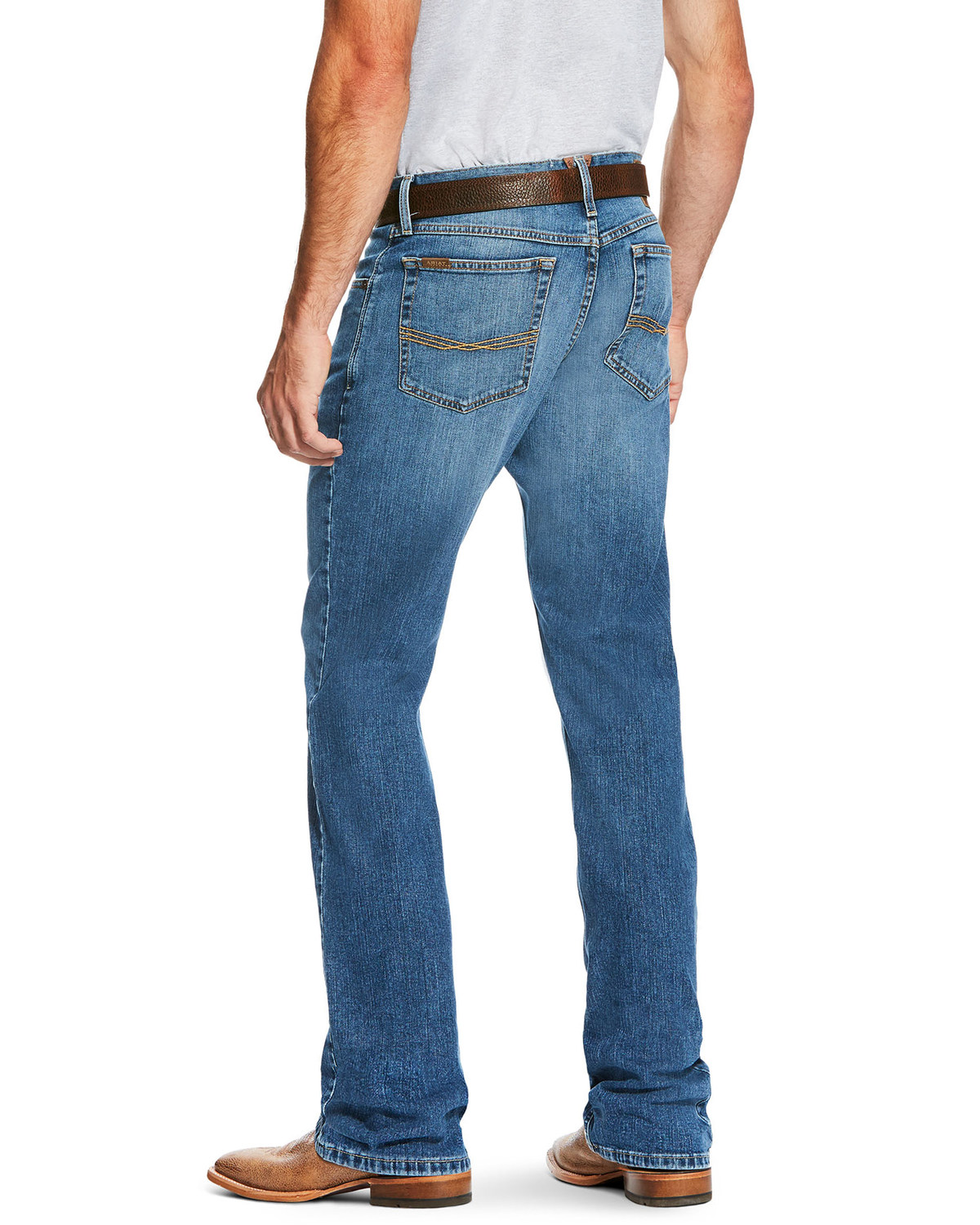 ARIAT Boys Big B4 Relaxed Bootcut Jean