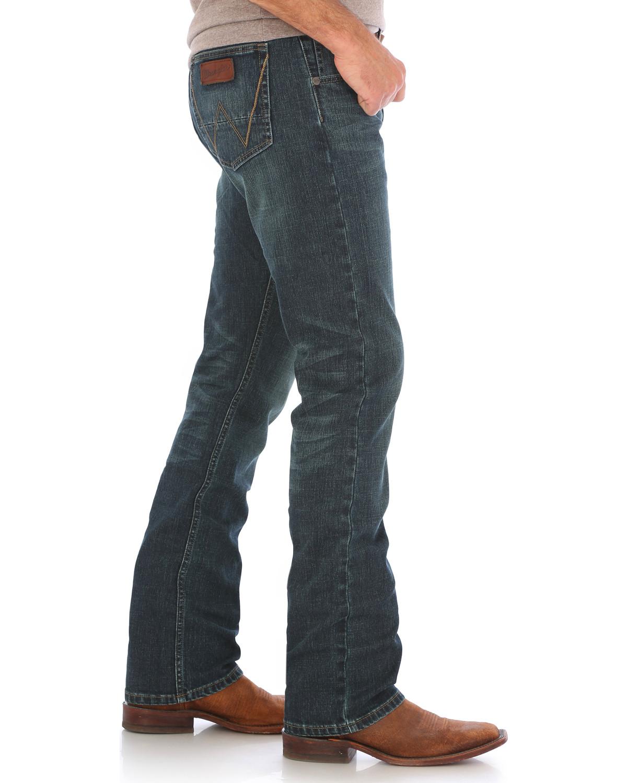Slim Fit Stretch Jeans, Bootcut