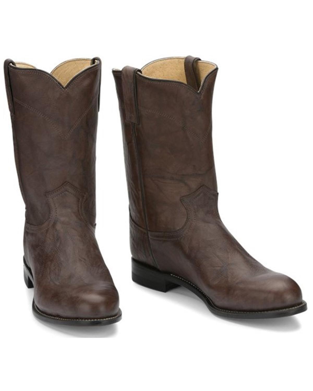 Justin Men's Deerlite Roper Western Boots