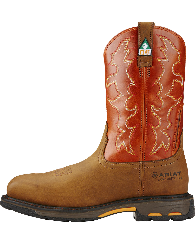 Ariat Men S Workhog Csa Work Boots Boot Barn