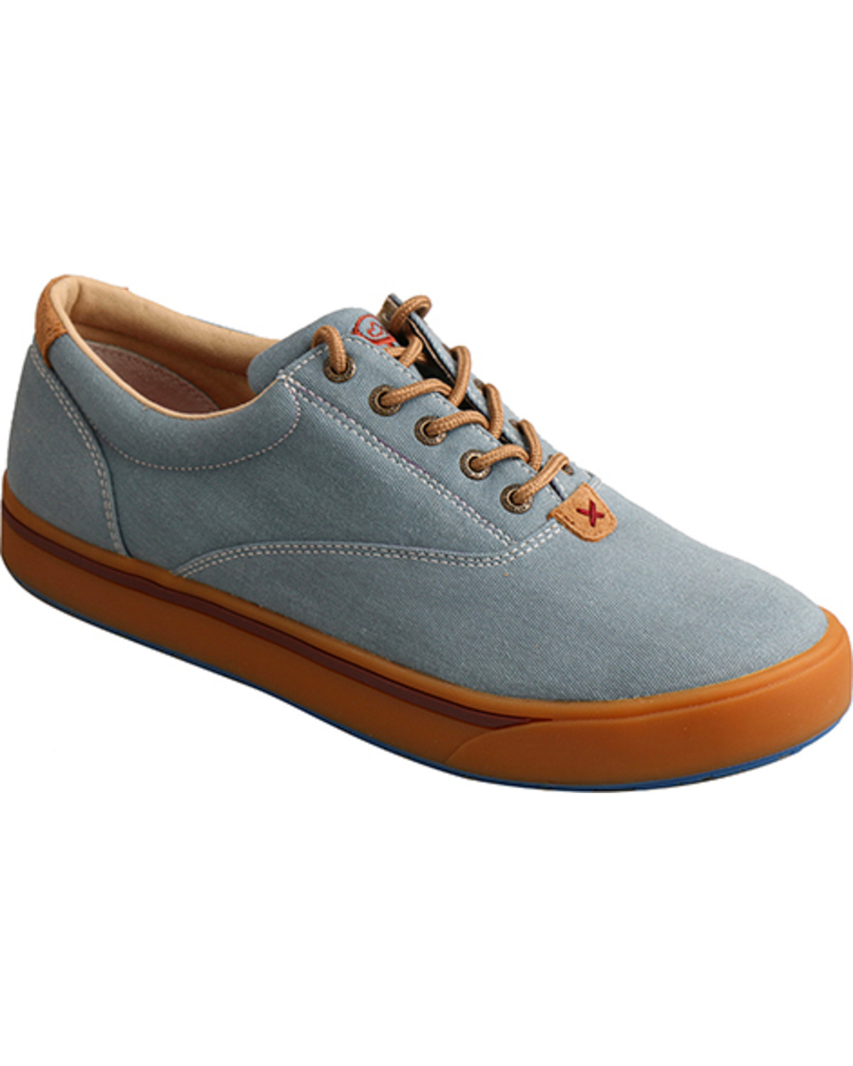 edfe7429f6a Hooey Lopers by Twisted X Men s Blue Canvas Shoes