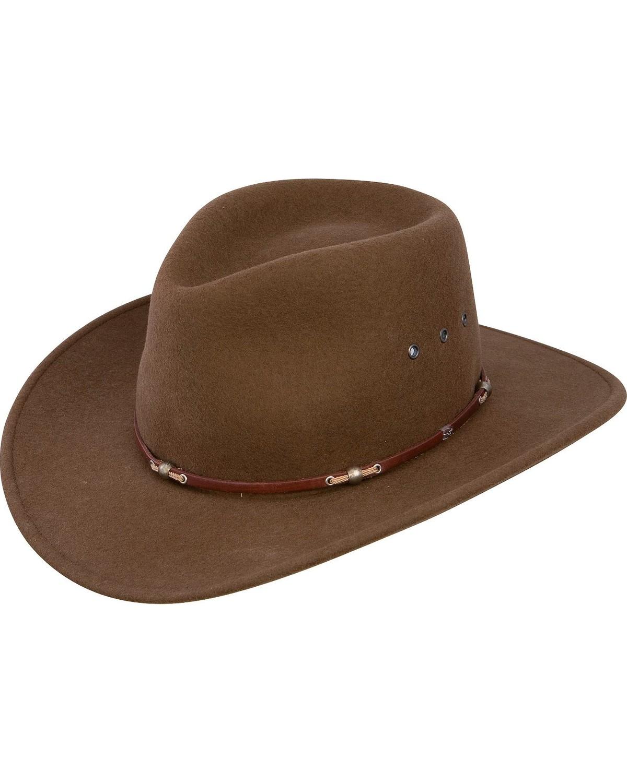 Stetson Wildwood Crushable Wool Hat  abe498659b5