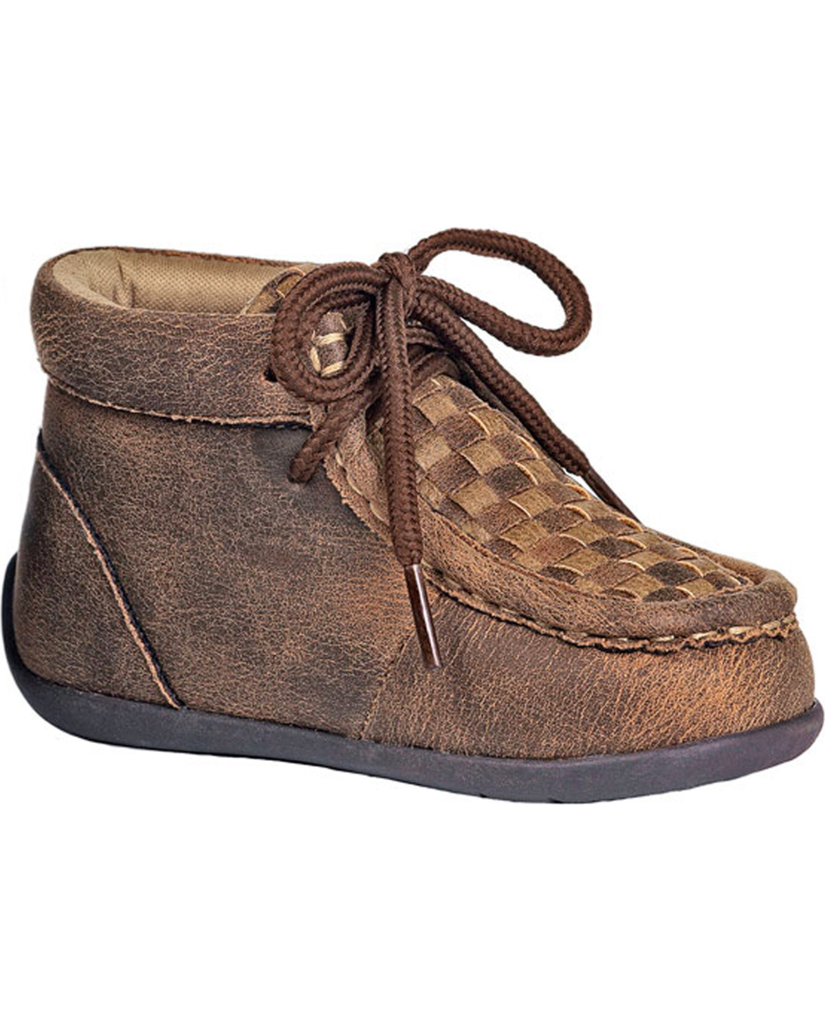 07c8d9c21 Zoomed Image Double Barrel Toddler Boys' Brown Carson Chukka Shoes, Brown,  ...