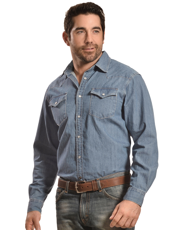 5dc813151a9 Mountain Khakis Blue Original Mountain Denim Shirt