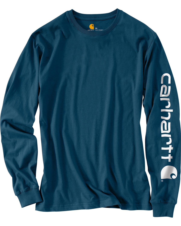 1a4b95695ec Carhartt Men s Workwear Logo Long Sleeve T-Shirt