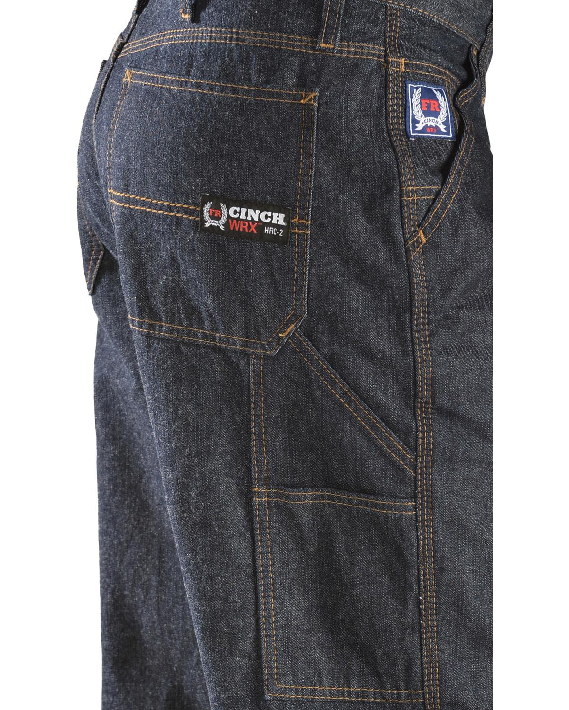 Cinch Men S Blue Label Carpenter Wrx Flame Resistant Jeans