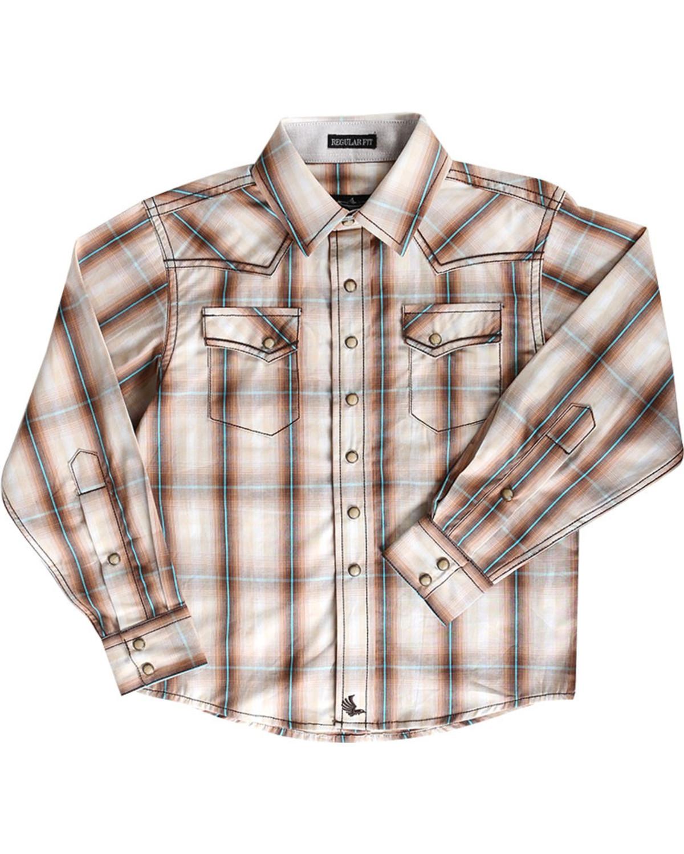 af1397b0 Zoomed Image Cody James® Toddler Boys' Trooper Long Sleeve Shirt, Brown, ...