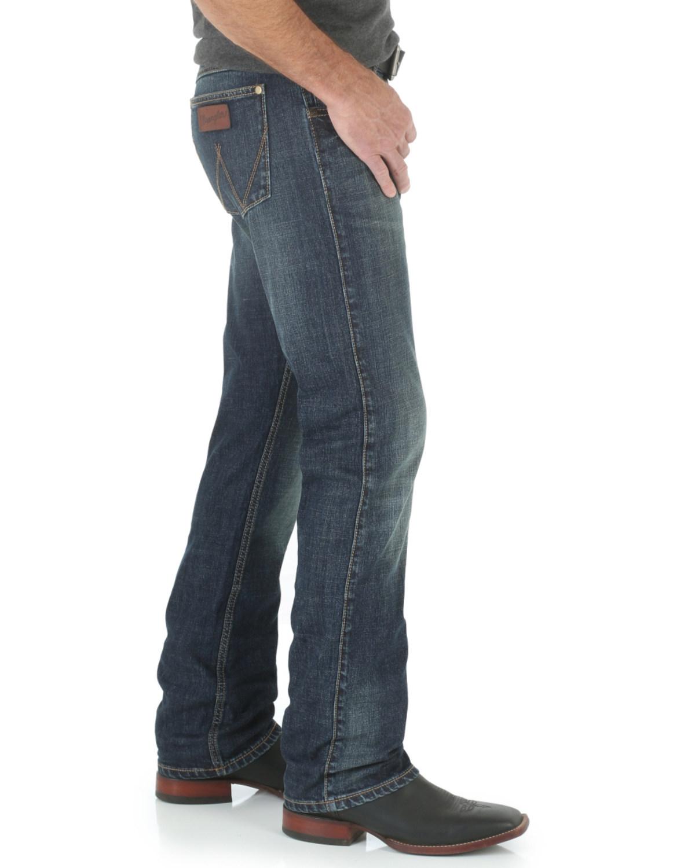 wrangler vintage slim jeans
