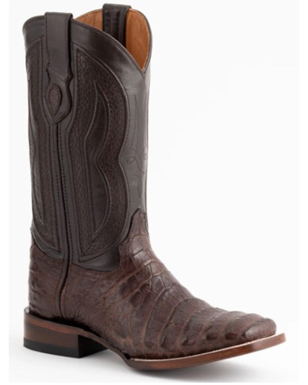 6fbc4420ad3 Ferrini Men's Belly Caiman Crocodile Exotic Western Boots