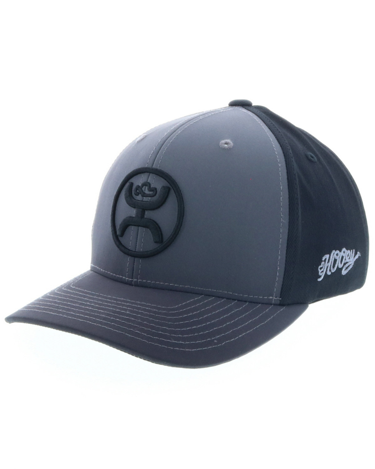 HOOey Men s Grey Gradient O Fade Cap  7a10faefe6a1